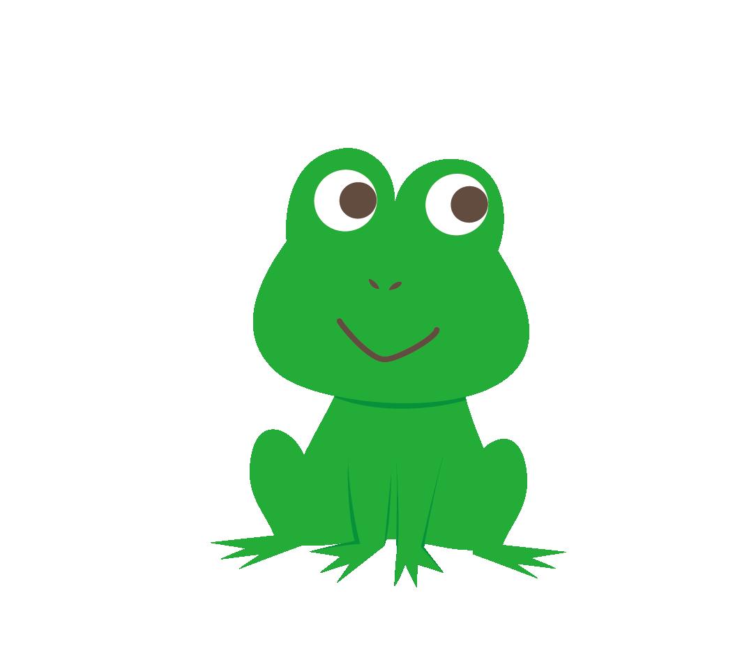 カエルのイラスト 高品質の無料イラスト素材集のイラサポフリー