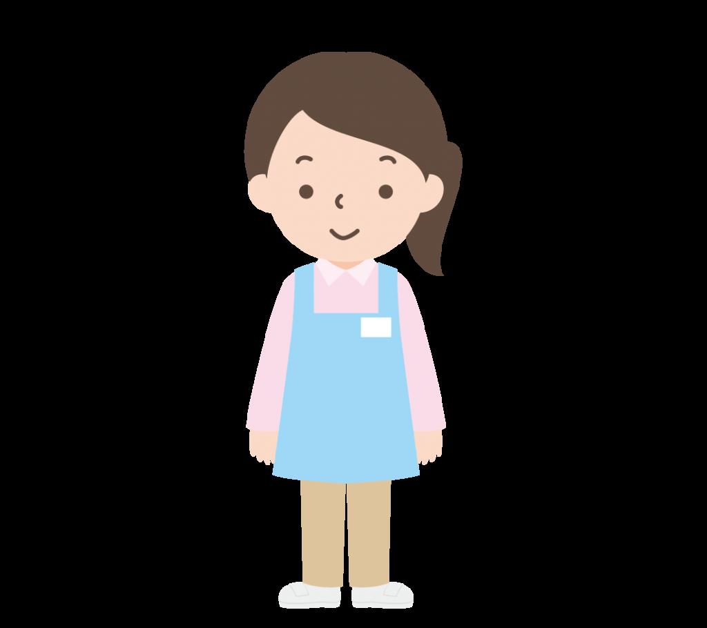 介護士の女性のイラスト